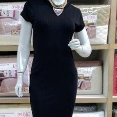 0cc720306 Vestido de Malha Radiosa Pmg | Vestido Feminino Nunca Usado 16232322 ...