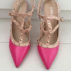ce87f4811 Sapato Pink De Bico Fino | Comprar Sapato Pink De Bico Fino | Enjoei