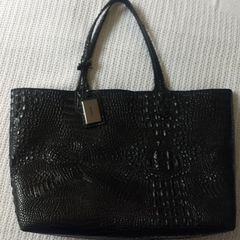 409374972 Bolsa Em Verniz Croco Preta | Comprar Bolsa Em Verniz Croco Preta ...