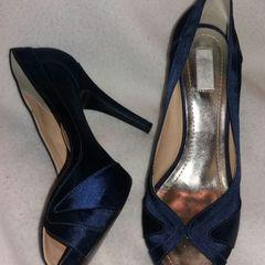 fb8d963161 sandalia cetim azul marinho madrinha casamento
