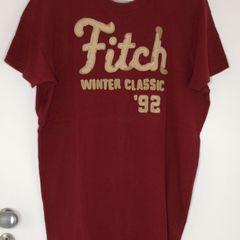 175af9a6e1 Camiseta Abercrombie fitch Abercrombie Vermelha
