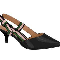 d3da0726d9 scarpin verniz estilo chanel