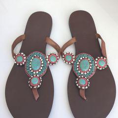ef61684bac Rasteira Super Colorida City Shoes - Encontre mais belezas mil no ...