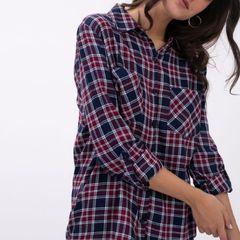 4a0aebcc65 camisa xadrez manga longa