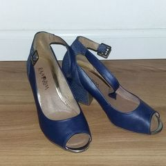 bd6c57d42 Peep Toe Azul Turquesa - Encontre mais belezas mil no site  enjoei ...