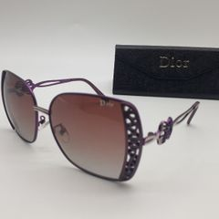 0ea2a25b36bce óculos roxo dior polarizado novo com case