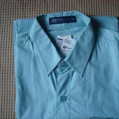 56e6c51ba0 Camisa Verde Hering