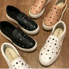 61565cfc8 Sapato Com Pedrarias | Comprar Sapato Com Pedrarias | Enjoei