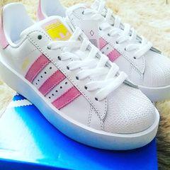 eb88148f3 Tenis Adidas Superstar Classico - Encontre mais belezas mil no site ...