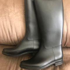 62f475cce7 bota hípica infantil importada fabricada em borracha instep sierra numero 33