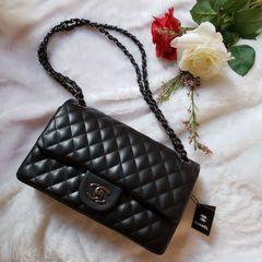 905eea829 Bolsa Chanel Classic Preta | Comprar Bolsa Chanel Classic Preta | Enjoei