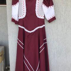 d17f6b47f7 Vestido De Prenda Gaucha