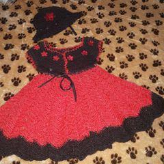 Vestido De Croche Menina De 2 A 3 Anos Comprar Vestido De
