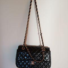 1333f985b Bolsa Replica Chanel Preta   Comprar Bolsa Replica Chanel Preta   Enjoei