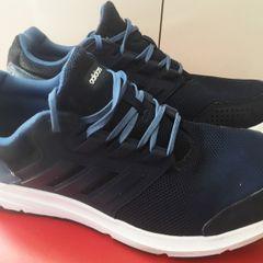 342d919f8af91 Tenis Adidas Azul De Cetim - Encontre mais belezas mil no site ...