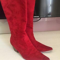 e23f576a5 Bota 37 Vermelha - Encontre mais belezas mil no site  enjoei.com.br ...