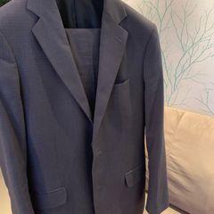 ae2f2bb388 terno masculino cinza chumbo blazer veste tam. p-m e calça tam. 36-38