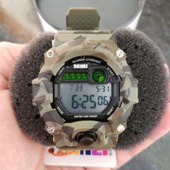 c258d3e9ce relógio masculino digital a prova dagua skmei 1197 camuflado