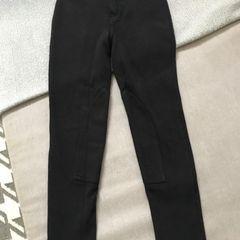 f7e03912d calça estilo montaria de moletinho com strech novinha tam 10 12 anos