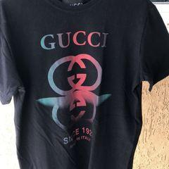 0f6722ebc2aaa Gucci Camiseta Masculina 2019 Nova ou Usada