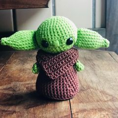 Mestre Yoda Amigurumi (chibi) - R$ 50,00 em Mercado Livre   240x240