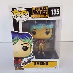 fc0fa8ff3a funko pop star wars rebels sabine 135