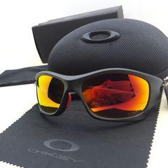 4d18109e6 óculos oakley pit bull ducati preto/vermelho polarizado - importado e novo