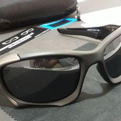 26860c655b100 óculos oakley pit boss ii preto grafite escuro polarizado - importado e novo