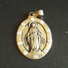 1035392208288 Medalha Nossa Senhora Gracas Ouro - Encontre mais belezas mil no ...