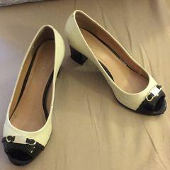 ba53afc02 sapato bicolor prego 36