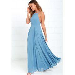 2fa150f40 vestido longo festa da moda verão femininos madrinha ref27. R  190 ...