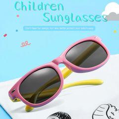 a9e519e6f óculos infantil menina rosa uv400 flexível