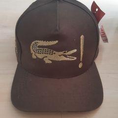 7de77873972 boné lacoste linha gold original ajustável dourado chapéu