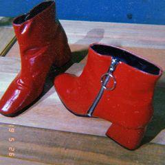 97afc0d8a Bota Verniz Vermelha | Comprar Bota Verniz Vermelha | Enjoei