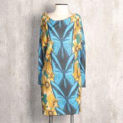 492e77c96 Vestido Longo Estampa Borboleta Farm | Comprar Vestido Longo Estampa ...