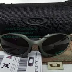4fa8cd6c7 oakley romeo 1 + case estojo lente black iridium polarizada novo