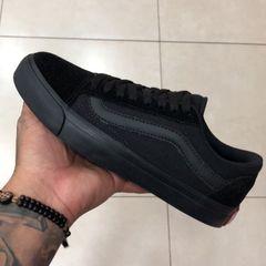 6f553a9fce5 tênis vans old skool skate preto branco novo
