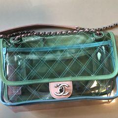 d1edc8d4c Bolsa Chanel Transparente | Comprar Bolsa Chanel Transparente | Enjoei