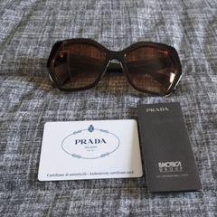 ecde744e4 Oculos De Sol Prada Marrom | Comprar Oculos De Sol Prada Marrom | Enjoei