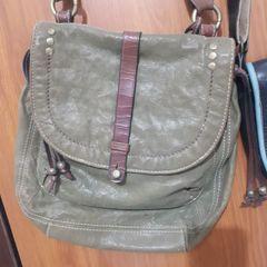 b15647f7fd2a bolsa carteiro couro fóssil