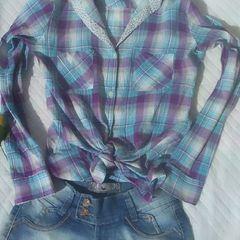 dd38e73110 camisa feminina xadrez m