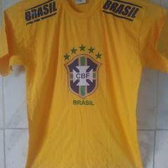 b995d90e0 camiseta brasil cbf seleção brasileira de futebol tamanho m 1 amarela ou 1  azul escuro