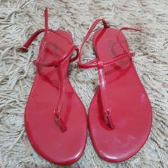 5c726a592 Rasteira Vermelha | Comprar Rasteira Vermelha | Enjoei