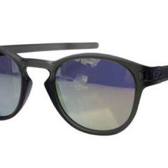 b17ad3006 óculos de sol oakley latch square preto fosco importado