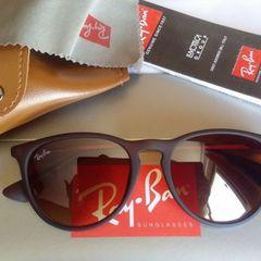 64cc6f4ebf8f6 óculos de sol modelo érika 4171 marrom fosco unissex