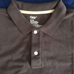 7b7782035de camisa polo masculina marrom escuro marca gap original tamanho grande nunca  usada