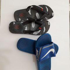 60ea14f6eef combo com 2 pares de chinelos masculinos novos pares número 41