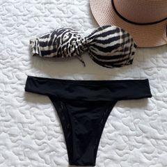 1d203917c9 biquini morena rosa blogueira usado uma vez estampa excluída e  personalizada regulável nas costas