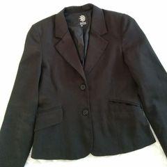 1642d85b4 Blazer Feminino Acinturado Preto   Comprar Blazer Feminino ...