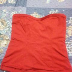 1567001b2f Blusa Tomara Que Caia Vermelha Com Elastico